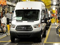 Ford Begins Transit Van Production