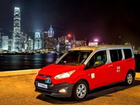 Ford Brings LPG Transit Connect Taxi to Hong Kong