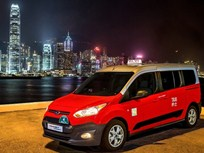 New Ford Transit Connect Taxi Begins Service in Hong Kong