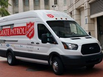 Ford Sets Up Transit Van for Salvation Army