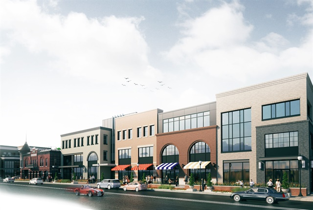 Rendering of Wagner West building courtesy of Ford.