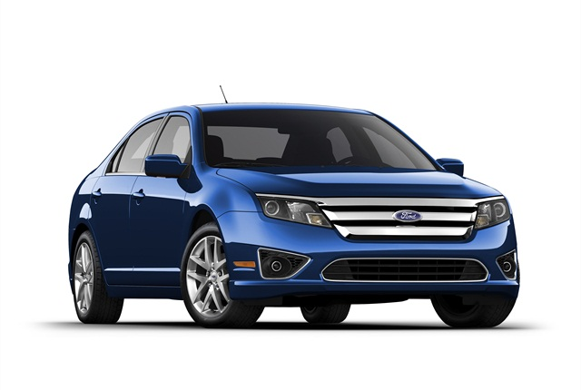 Photo of Fusion courtesy of Ford.