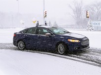 Ford's Autonomous Cars Navigate Snow-Covered Roads