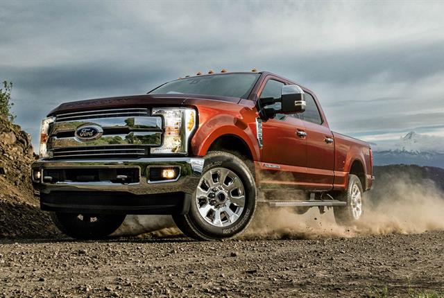 Photo of Ford Super Duty courtesy of Ford.