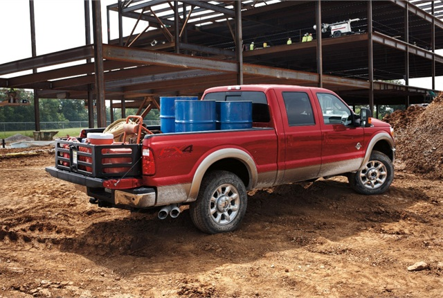 Ford Super Duty truck photo courtesy of Ford Motor Co.