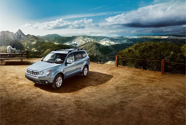 Photo of Subaru Forester courtesy of Subaru.