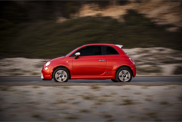 Photo of 2014 Fiat 500e courtesy of Chrysler Group.