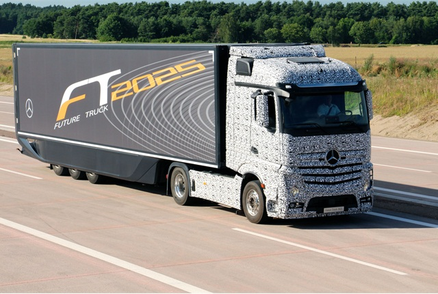 Daimler Trucks' Future Truck, unveiled earler this month. Photo: Evan Lockridge
