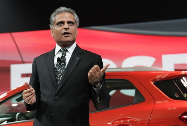 Photo of Kumar Galhotra in 2012 courtesy of Ford.