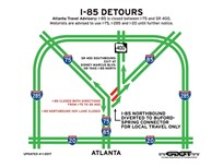 Georgia DOT Plans to Reopen I-85 by June 15