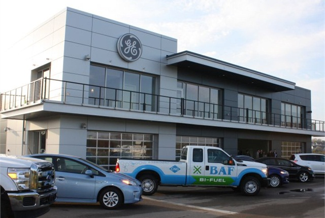 Photo of Vehicle Innovation Center courtesy of GE Capital Fleet Services.