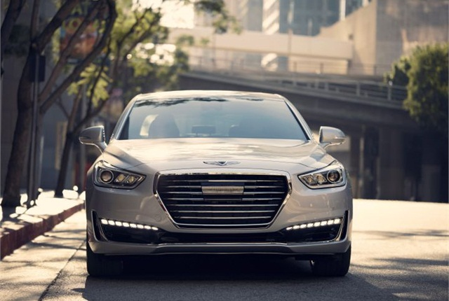 Photo of 2017 Genesis G90 courtesy of Hyundai.