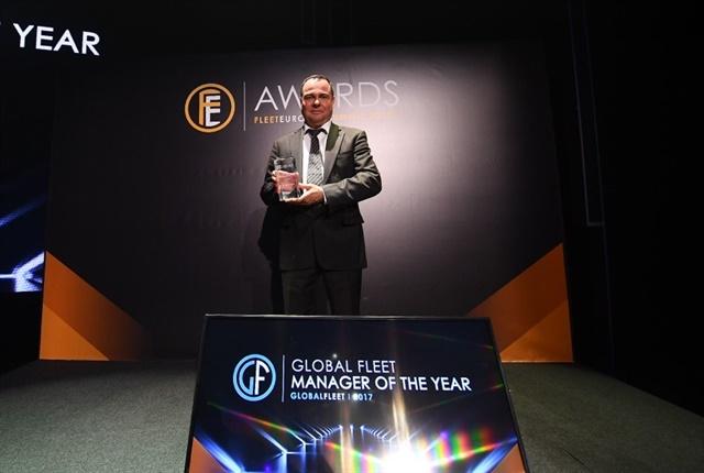 Photo of Juergen Freitag, head of Global Fleet Management at Siemens AG, courtesy of Fleet Europe.