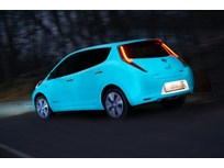 Nissan Unveils Glow-in-the-Dark LEAF