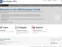 GM Offers New Framework for App Developers