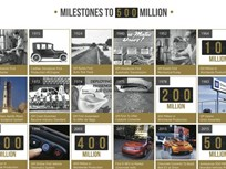 GM Celebrates 500M Vehicles Produced