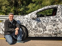 GM Teases Camouflaged Next-Gen Volt