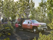 Chicago Landscaping Fleet's Red Trucks Boost Awareness