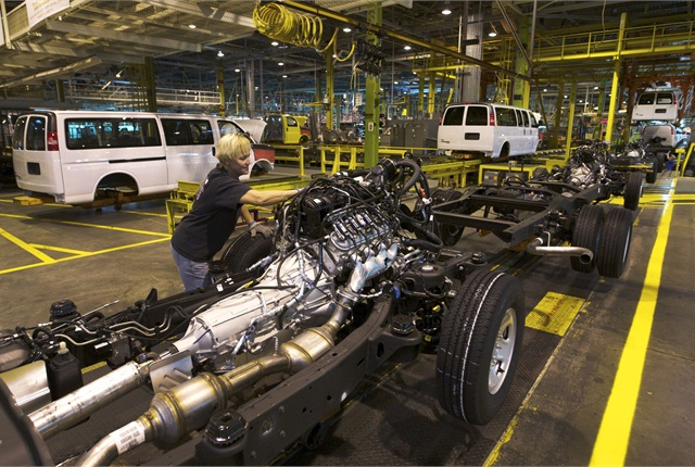 GM's $133 million investment in its Wentzville plant builds on the $380 million the company has already invested in order to prepare the plan to build its next-generation mid-size pickup trucks. Photo courtesy GM.