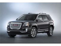 GMC Terrain Compact SUV Gets 2016 Facelift