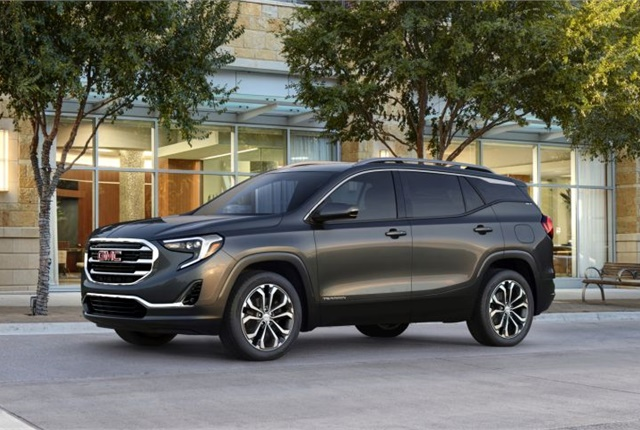 Photo of 2018 GMC Terrain SLT courtesy of GM.