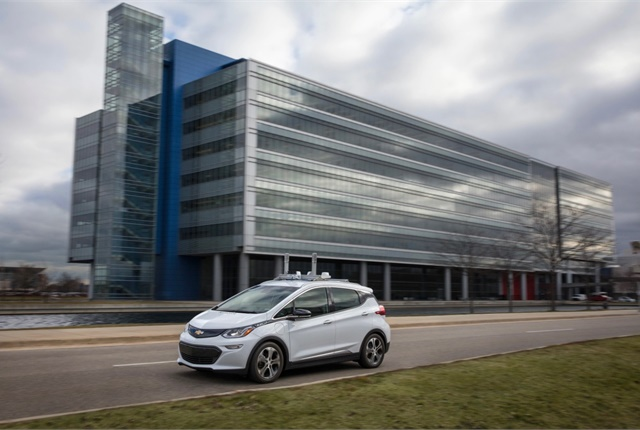 General Motors is among the automakers now testing fully autonomous vehicles. Photo courtesy of GM.