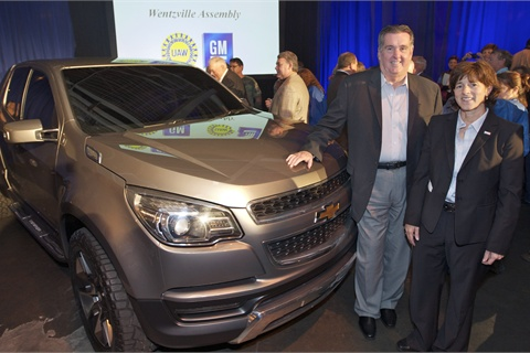 Gm invests 380 million in wentzville mo plant to build for General motors shreveport jobs