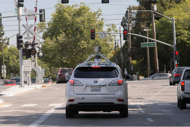 According to Google, the great majority of safety-related disengagements from the self-driving mode occur on city streets rather than freeways. Surface streets pose a more complex road environment. Photo courtesy of Google.