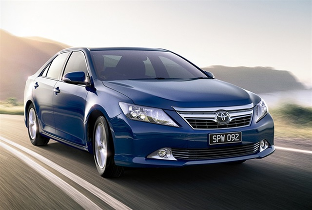 Photo of the Aurion Presars courtesy of Toyota Australia.