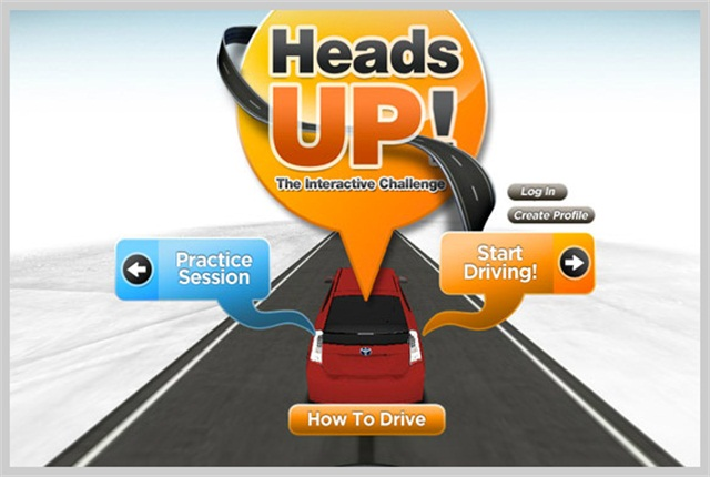 The Driver Advantage readers can test their skills with interactive safety challenges.