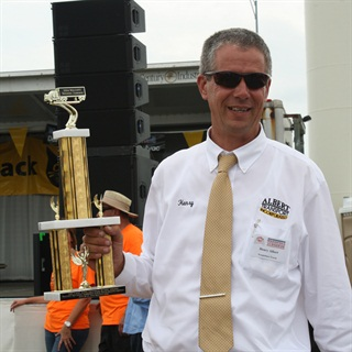 Henry Albert was honored during the Walcott Truckers Jamboree.