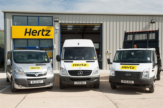 Hertz UK offers new benefits for Van Excellence members. Photo courtest Hertz UK.