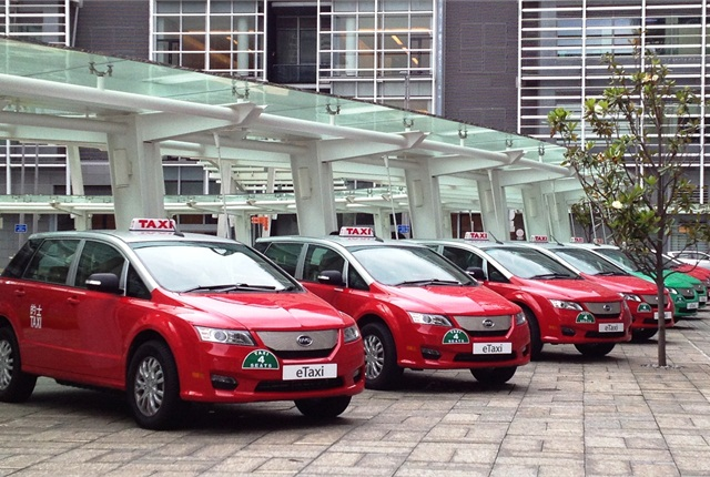 Hong Kong has launched its first all-electric taxi fleet consisting of the BYD e6 electric crossover models.