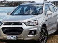 Redesigned Holden Captiva Arrives in Australia in 2016