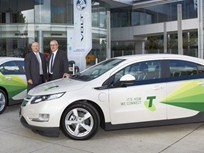 First Holden Volt Electric Vehicle Joins Telstra Fleet in Australia