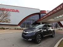 Honda Begins Next-Gen CR-V Production in Ohio