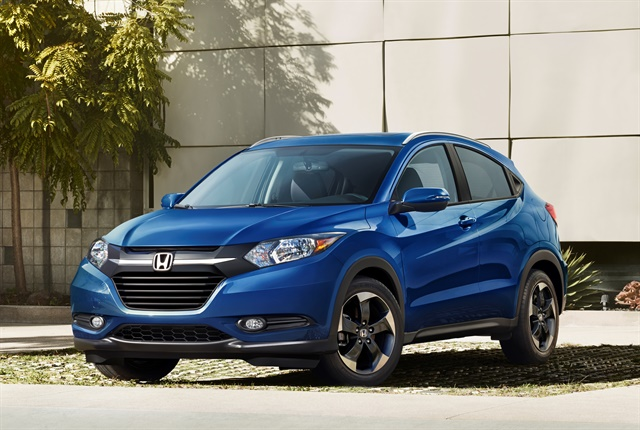 Photo of 2018 HR-V courtesy of Honda.