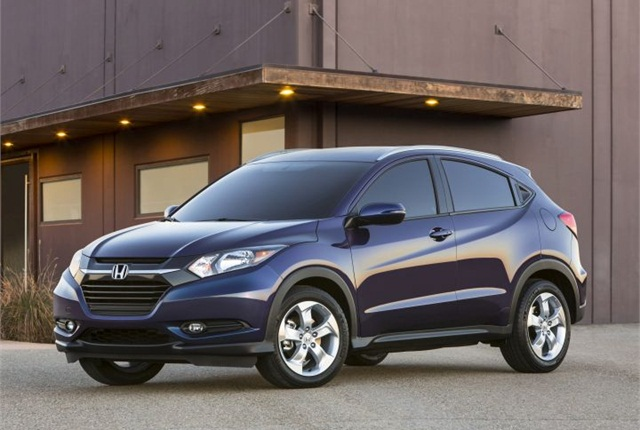 Photo of HR-V courtesy of Honda.