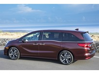 2018 Honda Odyssey Priced at $30,890