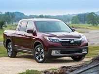 Honda's 2017-MY Ridgeline Goes on Sale