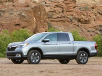 2017 Honda Ridgeline Begins Production