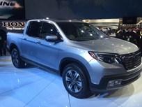 Honda's Sporty Ridgeline Truck Debuts in Detroit