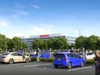 Honda Adds 120 EV Fast Chargers to HQ