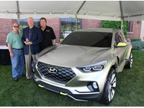 Hyundai Santa Cruz Wins Concept Truck of 2015