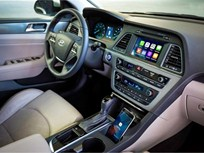 Hyundai Adds CarPlay to 2016 Sonata