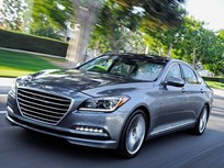 Hyundai Unveils 2015 Genesis Sedan in Detroit