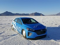 Hyundai Ioniq Hybrid Reaches 160 MPH in Utah