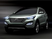 Hyundai Teases Images of All-New 2013-MY Santa Fe