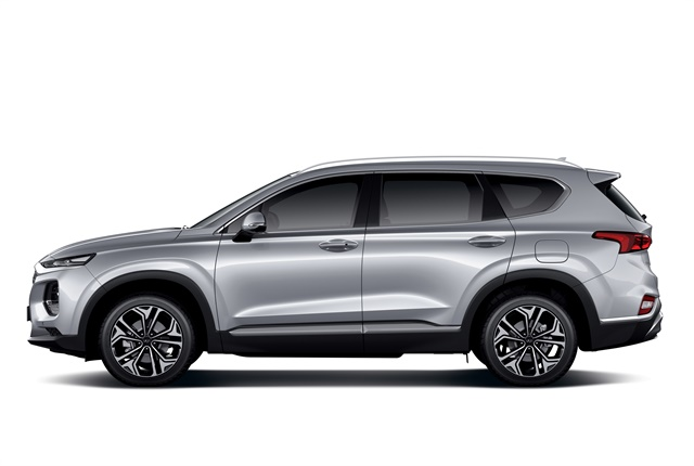 Photo of the 2019 Santa Fe courtesy of Hyundai.