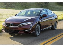 Honda's 2018 Clarity Fuel Cell Arrives in California